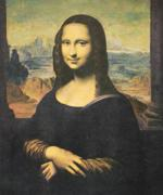 Die 'Mona Lisa' der Vernon Collection mit den Säulen