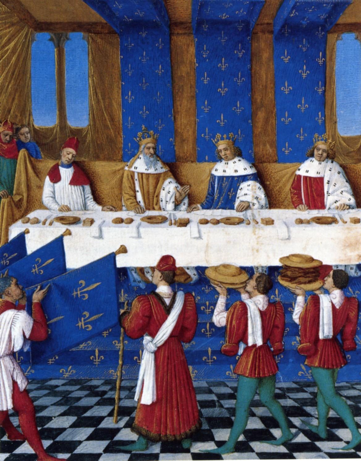 Tischsitten Im Mittelalter Arbeitsblatt : Tischsitten kleio
