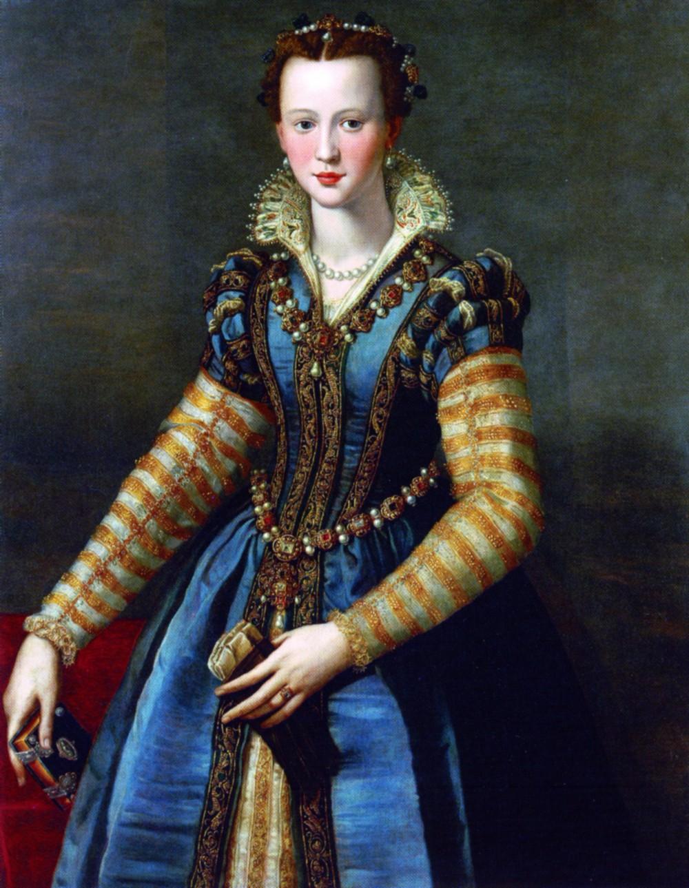 Alessandro Allori: Maria de\' Medici, um 1588 – kleio.org
