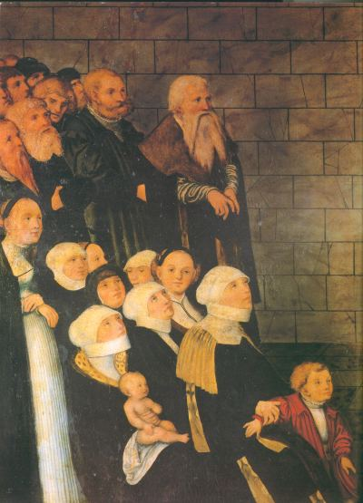 Johannes Luther mit Familie
