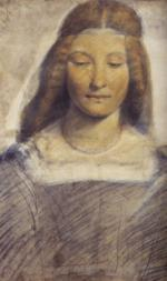 Lucrezia Borgia, drawn by Leonardo da Vinci in 1498