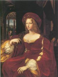 Johanna, the eldest daughter of Isabella of Aragon